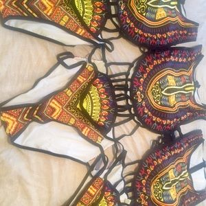 Other - African Print Swim Suit